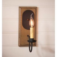 If your wish is to capture the simplicity of earlier times, their 1-Light Candle Wall Light is a wonderful choice. Created with the simplest of designs, this sconce will stand the test of time.