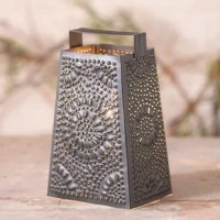 This Cheese Grater accent light is a unique night light for your kitchen area. A beautiful piece for your windowsill or counter area.