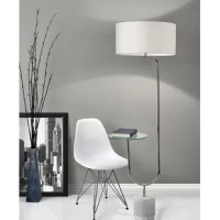 Add a sleek, modern look to your bedside or living room with this Steveson 65