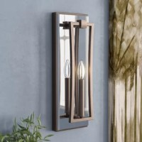 Say goodbye to making space for table lamps and hanging luminaries – this stylish sconce shines right from your wall! It is metal frame features a metallic finish for a glint of glamour while a traditional candelabra-inspired light is highlighted by an openwork accent. Rated for both damp and dry areas, this product is suited for both busy entryways and bathrooms with steamy showers alike.