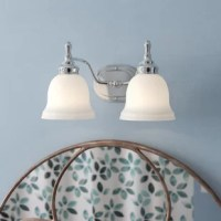The timeless design of this collection transcends into transitional with a nod toward contemporary instantly updating your space. Gently curving arms finished in chrome support softly rounded frosted opal white glass shades.