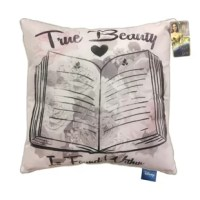 Add a little more comfort to your child's bedroom with this Disney Beauty & the Beast True Beauty is Found Throw Pillow. Perfect for bedtime or lounging around the house, this decorative pillow truly brings the magic of Disney to life.
