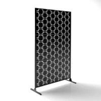 Privacy has never looked so good. Transform your backyard or deck with a Veradek outdoor partition Decorative Screen. Inspired by the traditional geometric patterns from around the world, Veradek screens are modern, yet versatile. Veradek screens are the ideal screen to hide an unsightly neighbor's backyard, to block unwanted direct sunlight, create privacy or to frame an outdoor room. Made from 1.5 mm laser cut galvanized steel, all Veradek outdoor screens are of the highest quality and...