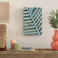 'Palm' gallery wrapped canvas is a high quality canvas print featuring an abstract leaf display that will add a touch of warmth and serenity to any home or office.