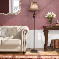 A timeless floor lamp that will outlast any trend. This transitional piece features an elegant, glitzy finish and an elegant round faux silk bell shade in taupe. The 3-Way light feature gives you the flexibility to brighten and dim your room to the perfect brightness.