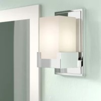 What with all the shaving, cleaning, and makeup applying, the right lighting in the bathroom is important in any home. Find the light you love with this bath sconce! Crafted from steel, it comes awash in a neutral finish, blending effortlessly with your color scheme. A rectangular glass shade diffuses light from any compatible bulb that's perfect for brightening up your space in style, while a damp location rating makes it ideal for your bathroom ensemble.