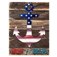 This beautifully handcrafted Americana wooden decorative item makes for a great gift for any occasion and great for home and garden decorating. Arrives ready to decorate your living space! Multi use item, great for DIY projects and ideas.