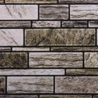 Nothing compares to the classic look of exposed stone walls. From living rooms to kitchens, these brick-look wall tiles can be incorporated in every living space to create a timeless, historic look. Featuring a stone wall in your home can be quite expensive—but it doesn't have to be with our 3D stone wall tiles. Our self-adhesive, peel and stick stone-effect wall tiles are made of durable PVC, making them water-resistant and mold-resistant. The matte finish allows for these tiles to...