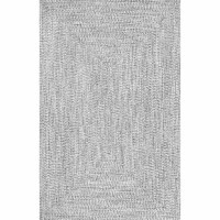 Able to take on high foot traffic, weather rainstorms, and make spills easy to clean, polypropylene is the perfect material for an indoor rug. Just take this all-weather rug for example: Handmade from 100% polypropylene, it features a flat 0.25'' pile height for effortless upkeep. Its woven design lends a touch of texture, while a gray hue keeps it neutral enough for any patio or entryway ensemble. To keep this piece safely in place, we recommend using a rug pad.