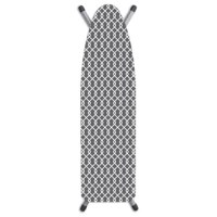 Laundry Solutions by Westex ironing board covers are made with a truly superior construction and high-quality materials. Their best-selling ironing board cover is designed to last long even through extensive use. This ironing board cover is made with a triple layer construction with 100% cotton cover and a thick padding made from foam and fiber. It is finished with a fully elasticize skirt tailored for a perfect fit along with a click to close fastener so everything stays in place for safe...