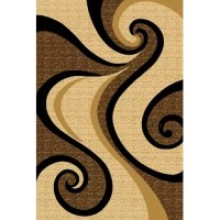 This Wargo Modern Contemporary Abstract Beige/Brown Area Rug is artistically designed with unique colors that bring out the beauty of your room. It is one of the best selling area rugs in the USA. It is plush, soft and durable and also easy to maintain.