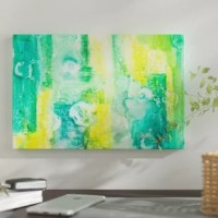 The artwork is crafted with 100% cotton artist-grade canvas, professionally hand-stretched and stapled over pine-wood bars in gallery wrap style - a method utilized by artists to present artwork in galleries. Fade-resistant archival inks guarantee perfect color reproduction that remains vibrant for decades even when exposed to strong light. Ready to be displayed right out of the box, including free hanging accessories and instructions for a quick and easy hanging process that achieves the best...