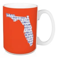 Show off your state pride and support your local football team with this Franke Go Florida Coffee Mug. This exclusive design and large handles for easy gripping. This is a great gift for football fans.