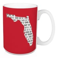 Show off your state pride and support your local football team with this Fredericks Go Tampa Bay Coffee Mug. This exclusive design and large handles for easy gripping. This is a great gift for football fans.