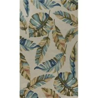 Live stylishly in the tropics with this collection. Woven with 100% polyester with an abrash effect, these rugs will help bring the outdoors inside in a fashionable color palette, create an everlasting breeze throughout your home. Vacuum regularly and spot clean stains. Professional cleaning recommended periodically.