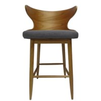Our mid-century modern barstools are the answer to the question you didn't even know you had. Not only does this set feature beautifully upholstered seats but it also showcases gracefully curved backrests that embrace you in its design. Featuring polished wood frames and iconic toothpick legs, these barstools offer your home the clean and refined atmosphere you've been looking for. Made for cozy weekend brunches at your kitchen nook or an intimate conversation over a glass of wine, our...