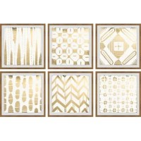 Hexaptych artworks that are durable art print on high-quality canvas. Perfect for any decor.