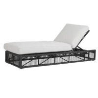 An ode to Milan, Italy, an international symbol of high-fashion, art and culture, The Milano Reclining Chaise Lounge with Cushion steps outside of the traditional outdoor furniture design boundaries and delivers a winning combination of whimsy and refinement. Absolute comfort is provided with its generously-sized frames and advanced seating support. The size of the pieces is visually lightened with the thoughtful striated rope design, clean lines, and perfectly placed angles.  Crafted with the...