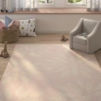 Who says artful appeal has to be limited to what's hanging on your walls? Whether rolling out in the living room or master suite, this eye-catching area rug acts as both a foundation and a focal point. It offers a low pile height for easy vacuuming. To keep this piece safely in place.