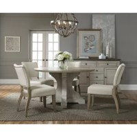 Between dinner parties, festive family feasts, and casual meals alike – your dining room is often entertaining! Spruce up your ensemble for all sorts of events with this stylish side chair. Made from Asian hardwoods, its frame is founded atop four legs, all finished in white for versatility. Both the back and seat are padded with foam, then wrapped in 100% polyester upholstery to tie it all together. For a dash of distinction, you'll find nailhead trim lining the backside.