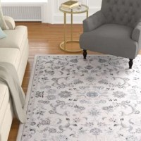 Timeless damasks, trellis motifs, and oriental designs are depicted in gray for this collection. Incredibly soft, this collection is machine made using a Wilton loom and heat-set polypropylene and polyester yarns.