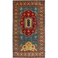 These rugs made by Uzbek Afghan master weavers.