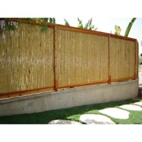 To ensure privacy around your garden or yard is maintained, bring home this natural Fencing. If you're organizing an outdoor party and looking to add that tropical, island-like feel, this rolled fence is just what you will need. Made using a bamboo material, this aesthetic fence offers durability and stability.