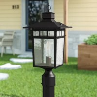 This exterior light fixture boasts a beautiful and classic design. Its oil rubbed bronze finish lends it a highly sophisticated appearance. The clear water glass emits light beautifully through its smooth and rippled surface. Improve the look of your garden, porch, or patio with this simple and refined light fixture.