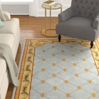 Our Collection provides a more grandiose line of floor coverings, similar to those in the old English courts. Made of 100% New Zealand wool, these tufted rugs are made in a 120-Line quality. The sophisticated design and antique appearance leave the mind to wonder if the rug is an original antique or a Collection piece.