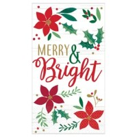 Add some holiday cheer to your Christmas dinner table with this Christmas Wishes 4.5
