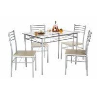 North Reading 5 Piece Dining Table Set