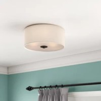Sometimes recessed lighting looks out of place (especially in old homes) and chandeliers are too big for our short ceilings; that's where flush and semi-flush mounts shine!