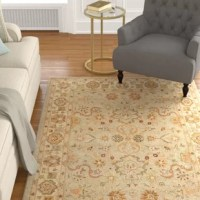 Add a refined and polished look to your home with the effortlessly stylish and elegant Charlton Home Cranmore Area Rug. This rug is made using high-quality wool, making it soft and durable. Sporting serene light this gorgeous area rug adds a touch of pure elegance and class to your room. The attractive floral designs are reminiscent of Oriental designs, making it ideal for traditional and modern home decor. This Cranmore Tufted Wool Light Green/Beige Area Rug from Charlton Home is available in...