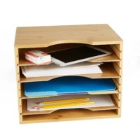 Desk looking untidy and can't seem to find anything? When you have Mind Reader's file organizer you won't have to worry about that anymore. Save yourself all the needed space on your desk and organize that mess.