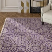 Bring classic style to your bedroom, living room, or home office with this richly-dimensional Rug. Artfully hand-tufted, these plush wool area rugs are crafted with plush and loop textures to highlight timeless motifs updated for today's homes in fashion colors