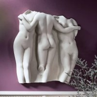 The Three Graces have been favorite subjects in art since this Hellenistic masterpiece was created. The Graces represent the qualities of joy, generosity, and gift-giving. The original size was cast directly from the antique in the Louvre.