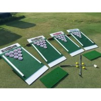 Make improving your short game and drinking game fun with this game set. This new game is an exciting combination of golf, beer pong and backyard games like corn hole. Play with empty cups, or insert prizes, challenges or anything else you can think of in each cup to make the game your own. For the kids turn this into a fun game of mini triangle tic-tac-toe. These are excellent for fundraising. Designed for you to customize with your favorite team, school, company or family name all along and...