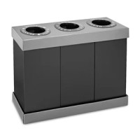 You looking for an attractive alternative to exposed garbage bags and other unsightly means of sorting trash from recyclables, alpine waste. Lightweight easily assembled and made of strong and durable corrugated designed for indoor use in hospitality suites, meeting areas, potluck dinners, and similar venues. They perform best when bins used as containers for disposable trash bags.