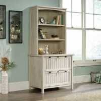 When it comes to our homes, it seems like storage is at a premium – especially when it comes to easily-scattered paperwork. Made of manufactured wood, this piece offers two lockable legal drawers, perfect for storing important documents in style. This piece brings all the character of a country cottage right into your home. And as an added bonus, this product comes with a five-year warranty.