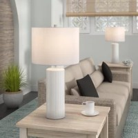 More than just illumination for your abode, table lamps lend an artful appeal to your space as they shine. Try adding to your nightstand to give the master suite a mini makeover, or stage atop the entryway console to greet guests with a warm glow. Take this one for example; simple, yet stylish.