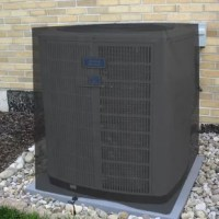 The Heavy Duty Air Condition Cover's toggle and drawstring feature will secure the cover tightly around your unit and the side air vents prevent lofting and mildew growth. Keep your air condition unit free of ice, snow, leaves, and debris with this cover!