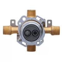 Engineered with the experts in mind. The Treysta tub and shower valve is Gerberâ™ most innovative valve yet. Powered by more than 85 years of Gerber performance. Treysta provides flexibility based on the specific requirements of each installation from the intuitive open and close stops for easy maintenance too easy installation and pressure testing. Treysta saves both time and money. Fully compatible with Danze by Gerber shower trim kits. Treysta helps you get the job done quickly and...