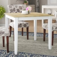 Frost Solid Wood Dining Table