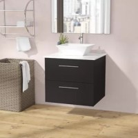 Give your powder room a modern makeover with this streamlined 24