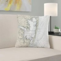 This manufacturer now offers their artwork this Fenwick Island to Chincoteague Inlet, VA Non-Corded Indoor/Outdoor Throw Pillow. Their artwork is printed on both sides on fade-resistant fabric for years of use and enjoyment.