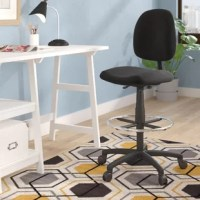 Whether in the office at home or at work, if you spend a lot of time sitting down, you want to make sure you have the right chair. Try incorporating one that speaks to you, like this piece for example: Crafted from manufactured wood, the seat and back feature a contoured construction that's designed to relieve strain on your back. Made to support up to 250 lbs. after construction, this piece features a full swivel as well as a gas-lift height adjustment, offering some convenience while you...
