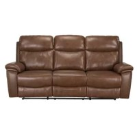 Bring comfort home. The sophisticated reclining loveseat is not only stylish, it's also extremely plush.