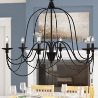 Watford 6 - Light Candle Style Classic/Traditional Chandelier