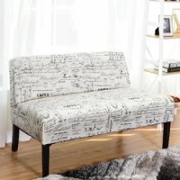 This Standard Loveseat is high quality and stylish which is ideal for compact space. It is a construct of wood frame, sturdy and durable, lasting for many years.