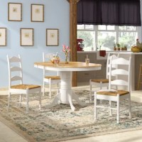 Shirk 5 Piece Solid Wood Dining Set